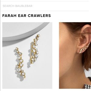 BaubleBar Jewelry - Baublebar Farah Ear Crawlers Earrings